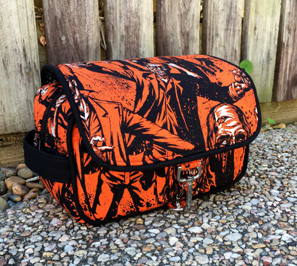 Zombies anyone?! Hang About Toiletry Bag - Andrie Designs