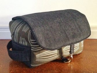 Classic grey Hang About Toiletry Bag - Andrie Designs