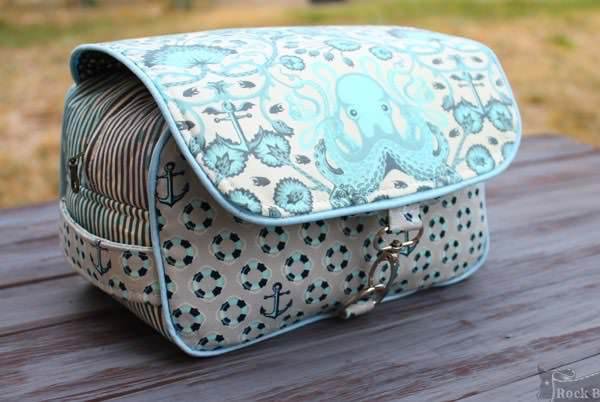 Octopus-themed Hang About Toiletry Bag - Andrie Designs
