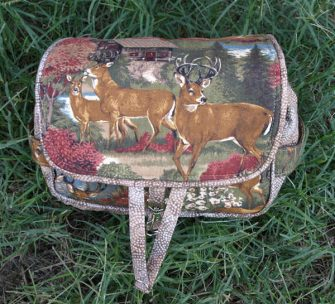 Deer in the wild Hang About Toiletry Bag - Andrie Designs