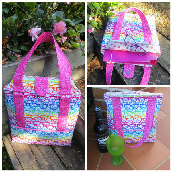 Love this large glasses-themed Heavy Hauler Tote Bag - Andrie Designs