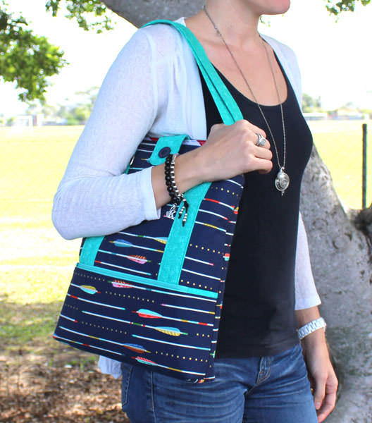 A great design to carry on the shoulder! Heavy Hauler Tote Bag - Andrie Designs