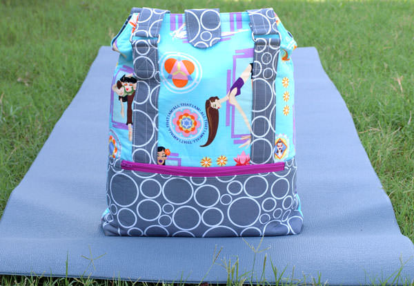 Yoga anyone? Heavy Hauler Tote Bag - Andrie Designs