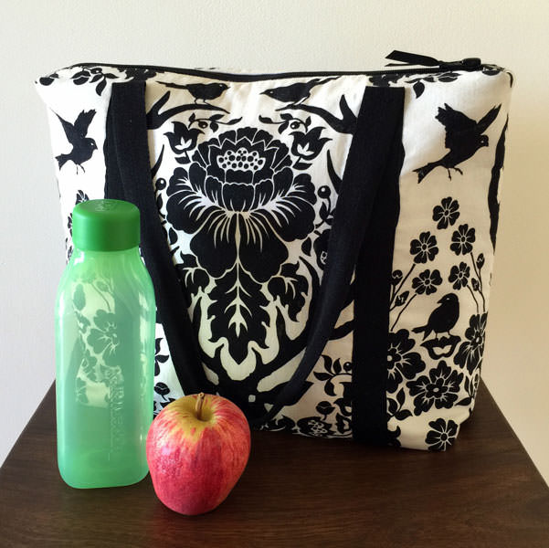 Holds more than you think! Insulated Lunch Bag - Andrie Designs