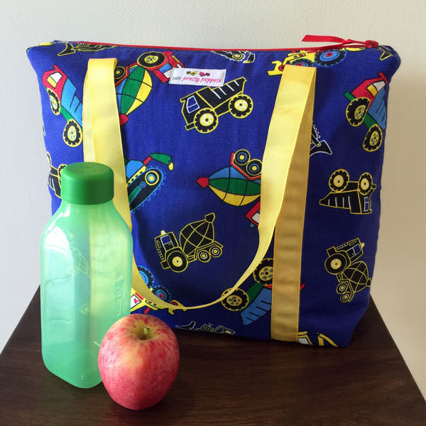 One for the boys! Insulated Lunch Bag - Andrie Designs