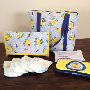 Insulated Lunch Bag - two pretty poppets