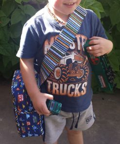 The perfect toy car carrier! Little Freehand Pack - Andrie Designs