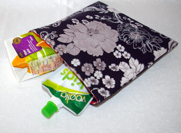 A great snack bag! Reusable Snack Bag - Andrie Designs