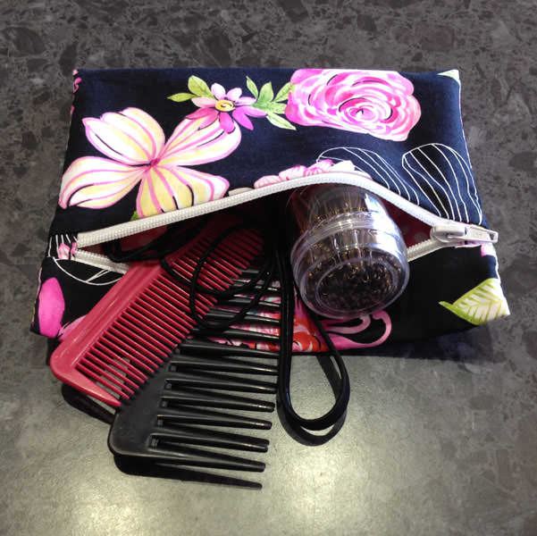 Hair accessories storage! Reusable Snack Bag - Andrie Designs