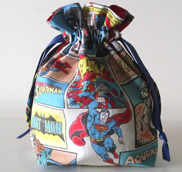 Love this little Super Drawstring Pouch - Andrie Designs