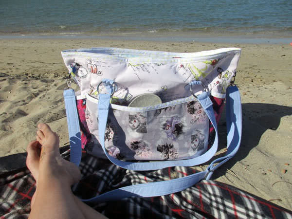 Fairytale Summer Lovin' Beach Tote - Andrie Designs