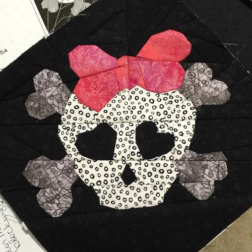 Skull Block - Love Rubie
