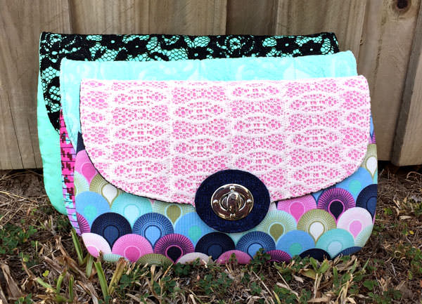 Three sizes available! The Statement Clutch - Andrie Designs