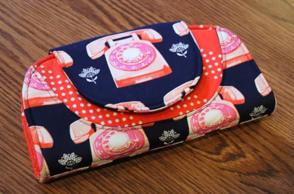 Ring ring! Hello? Love this telephone-themed Cleo Everyday Wallet - Andrie Designs