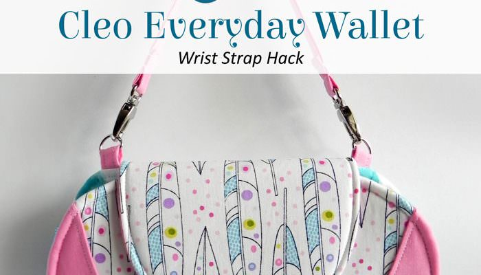 Cleo Everyday Wallet – Wrist Strap Hack