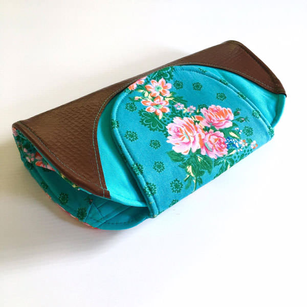 Top view - Cleo Everyday Wallet - Andrie Designs