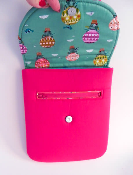 Inside - The Little Bird Designs - Polly Cross Body Pouch - Andrie Designs