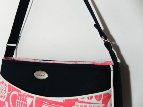 Finished shoulder strap - Carry All Flexi Clutch - Adding a Shoulder Strap: Option #1 - Andrie Designs