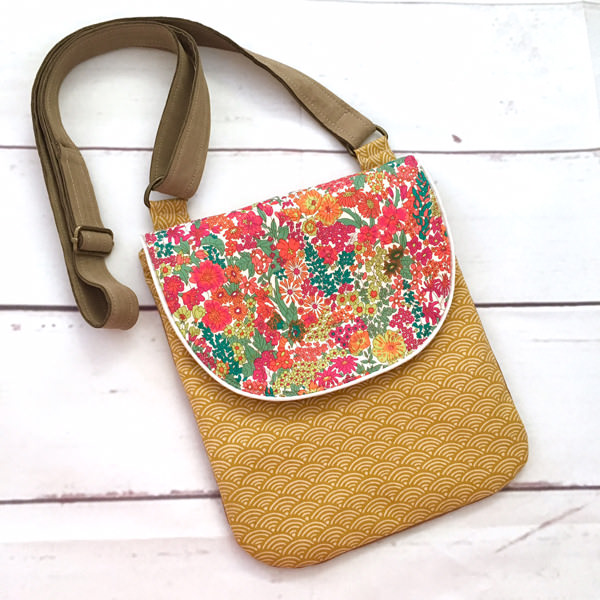 Floral Liberty - Paisley Avenue - Polly Cross Body Pouch - Andrie Designs
