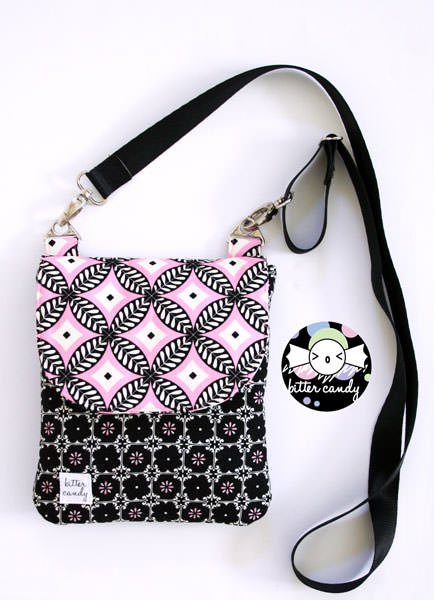 Bitter Candy Handmade - Polly Cross Body Pouch - Andrie Designs
