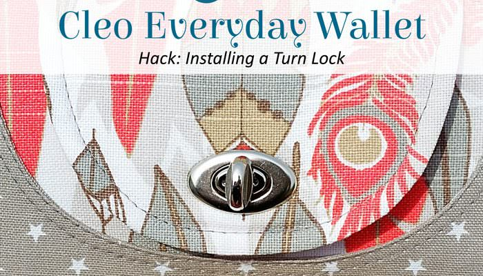 Cleo Everyday Wallet – Turn Lock Hack