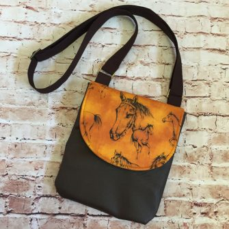 Horse - Melisa Jane - Polly Cross Body Pouch - Andrie Designs