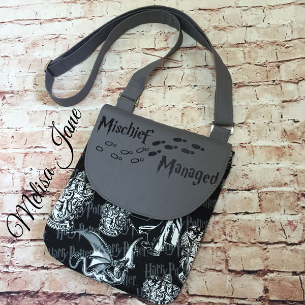 Harry Potter - Melisa Jane - Polly Cross Body Pouch - Andrie Designs