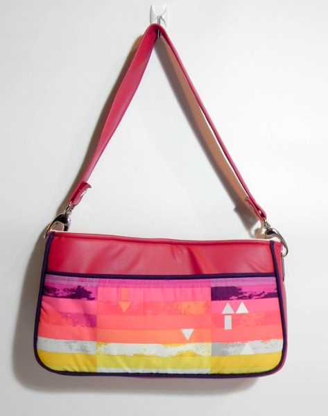 Finished Carry All Flexi Clutch - Adding a Shoulder Strap: Option #3 - Andrie Designs