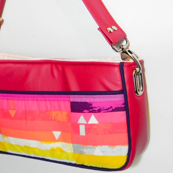 Gorgeous modern Carry All Flexi Clutch - Adding a Shoulder Strap: Option #3 - Andrie Designs