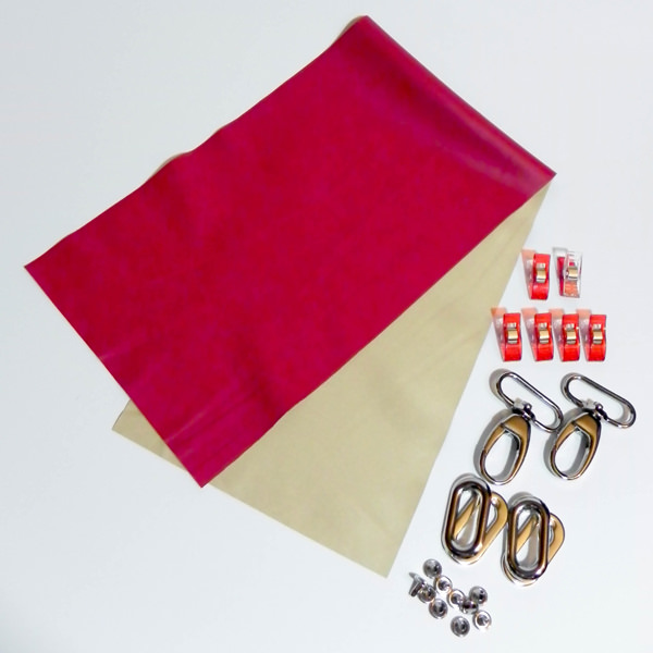 The supplies you'll need - Carry All Flexi Clutch - Adding a Shoulder Strap: Option #3 - Andrie Designs
