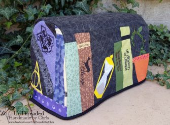 Harry Potter-themed Made For Me Sewing Machine Cover - Andrie Designs