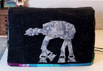 Star Wars-themed Made For Me Sewing Machine Cover - Andrie Designs