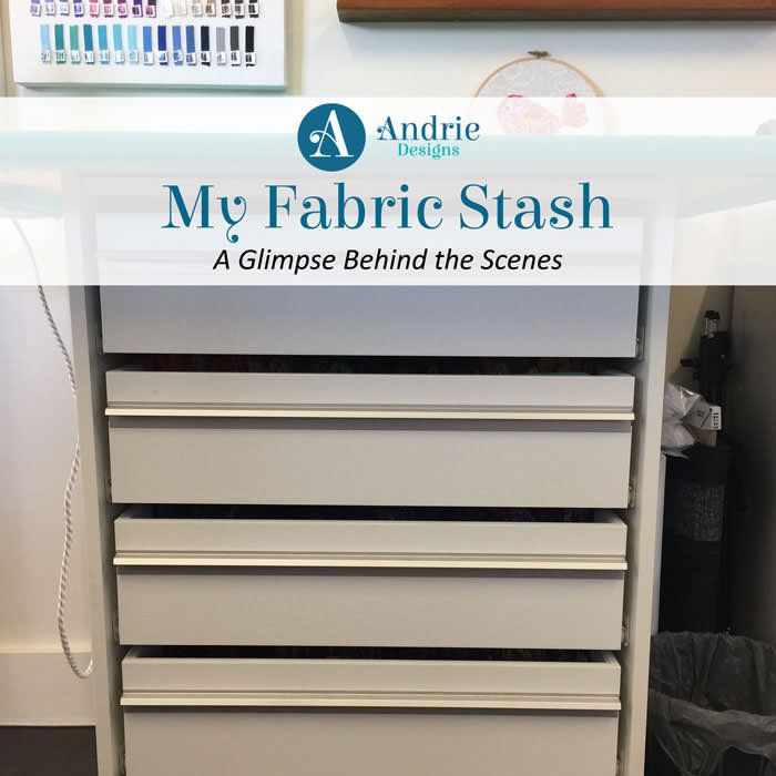 My Fabric Stash - Andrie Designs
