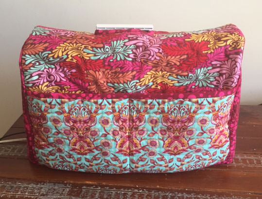 Made For Me Sewing Machine Cover - two pretty poppets