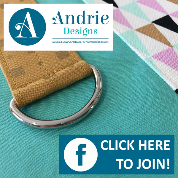 Join the Andrie Designs Patterns Group on Facebook