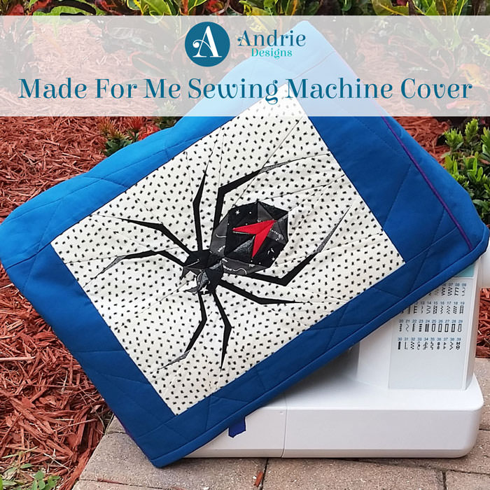 Made For Me Sewing Machine Cover - Andrie Designs