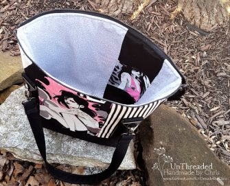 Inside view of this awesome Classic Carryall Handbag & Tote - Andrie Designs