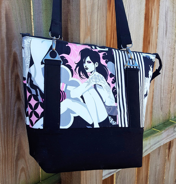 Well hello there! Classic Carryall Handbag & Tote - Andrie Designs