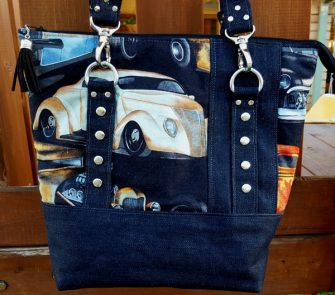 Classic cars for this Classic Carryall Handbag & Tote - Andrie Designs