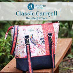 Classic Carryall Handbag & Tote