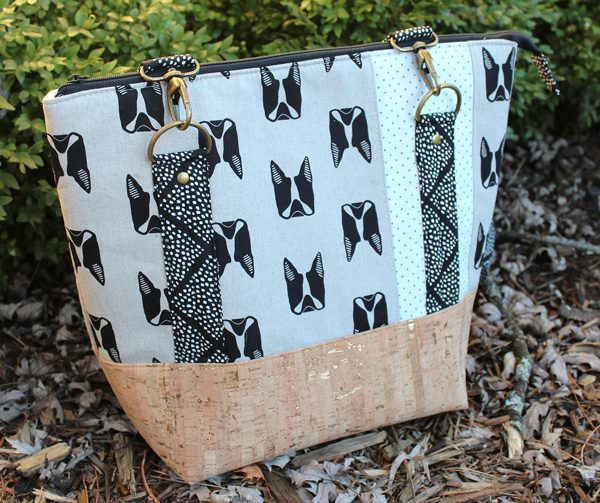 Check out this amazing Maker Maker Classic Carryall Handbag & Tote?! - Andrie Designs