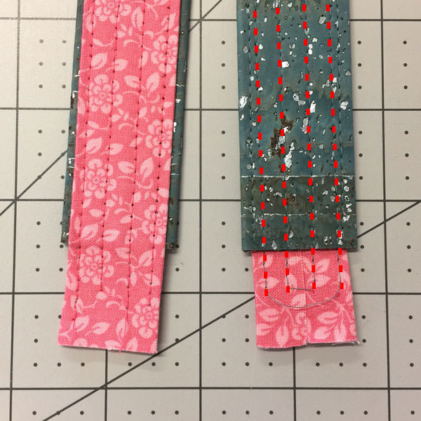Creating a Double Sided Strap - Andrie Designs