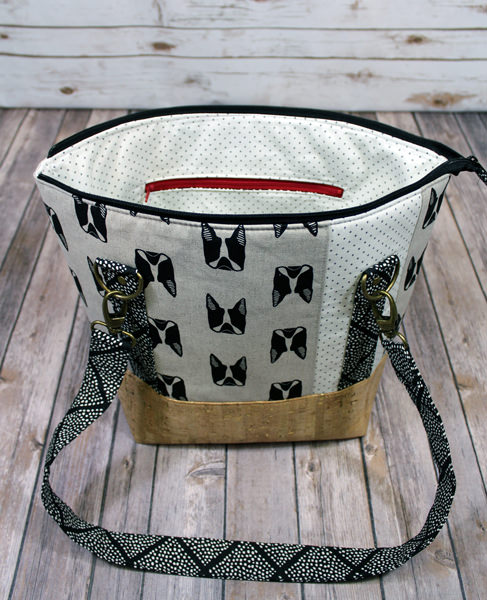 Inside view of the Maker Maker Classic Carryall Handbag & Tote - Andrie Designs