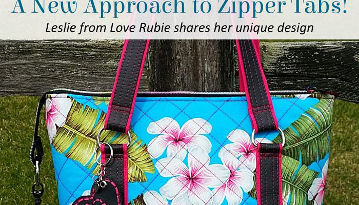 A New Approach to Zipper Tabs