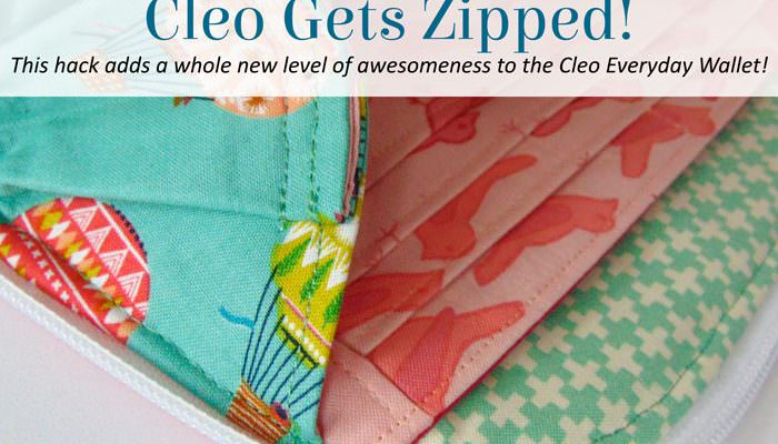 Cleo Gets Zipped!