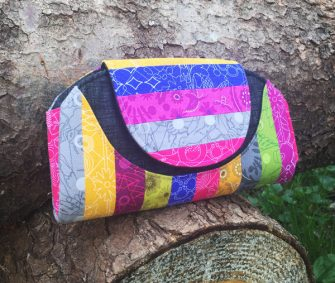 Quilt Me A Bag - Cleo Everyday Wallet - Andrie Designs