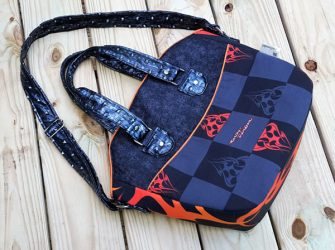 How great is this Harley Davidson-themed Creative's Tote! - Andrie Designs