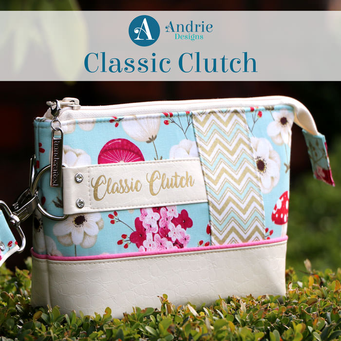 Classic Clutch - Andrie Designs