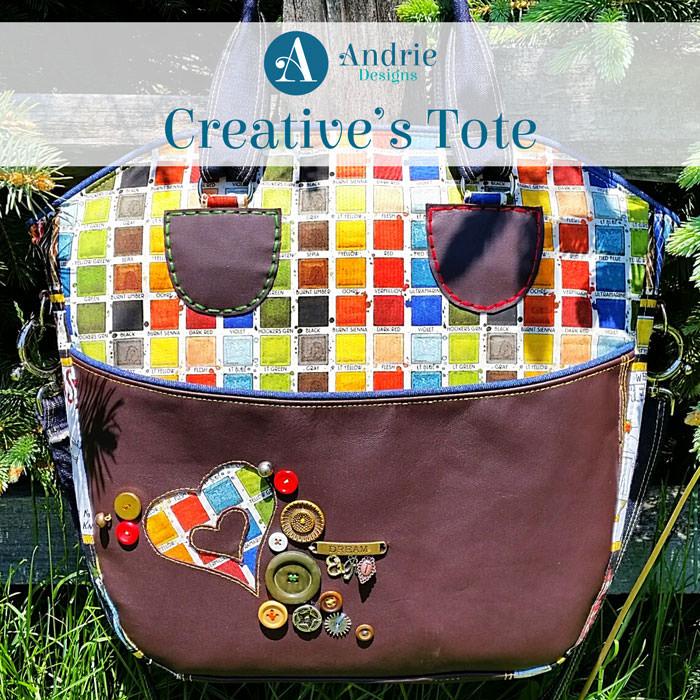 Creative's Tote - Andrie Designs