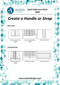 Andrie Designs - Create a Handle or Strap Tutorial